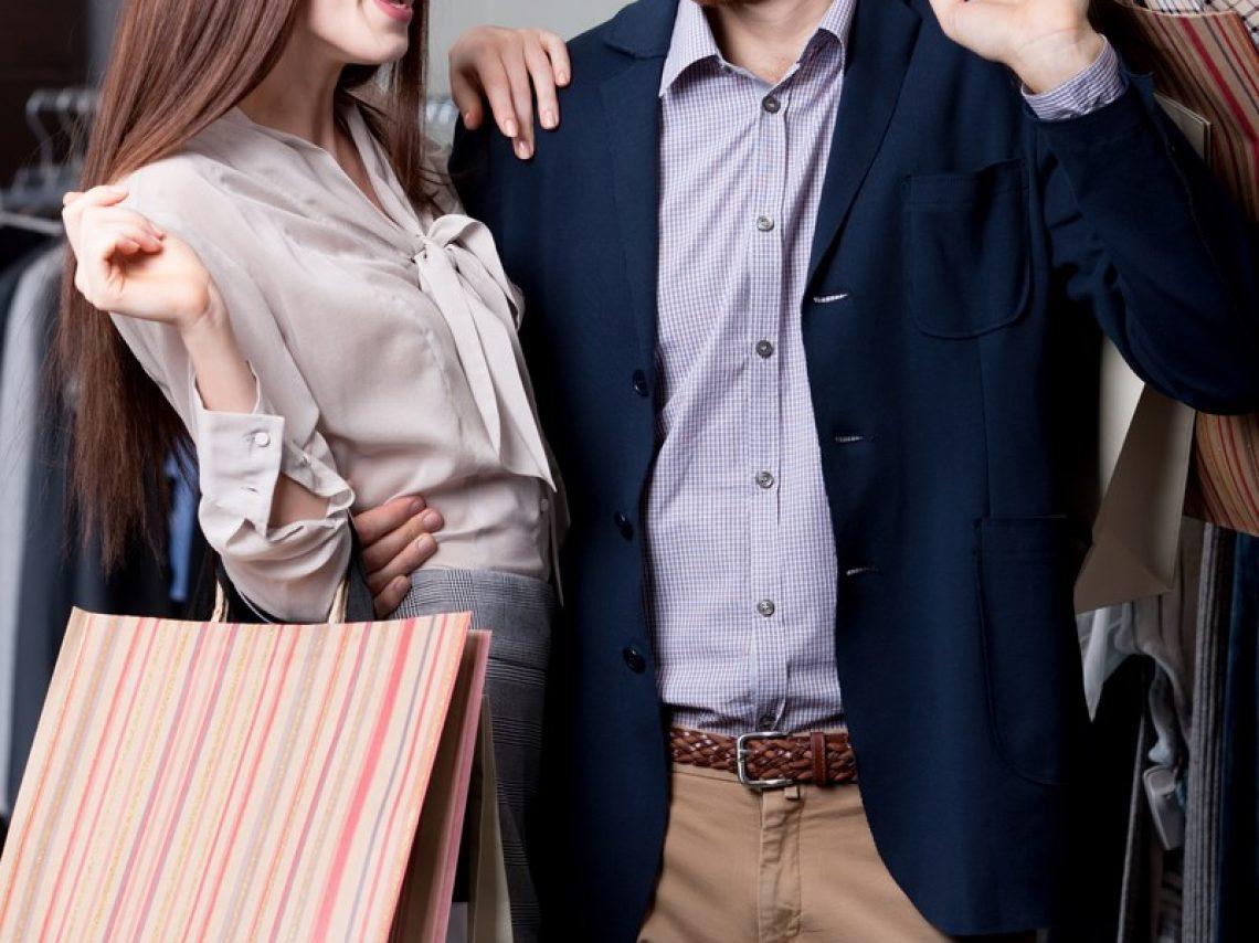 J'adore partir faire du shopping avec ma copine