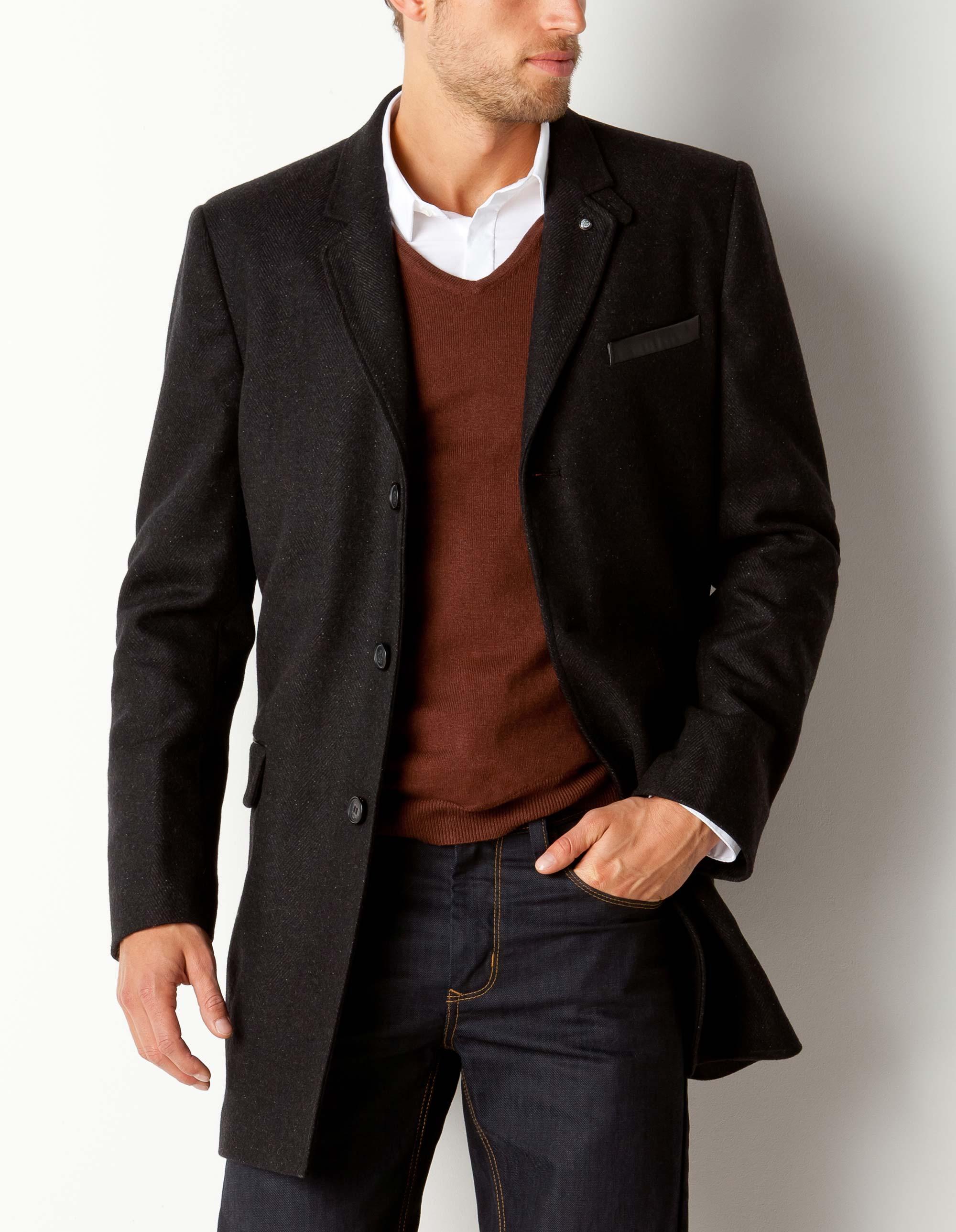 manteau homme court, Pinterest