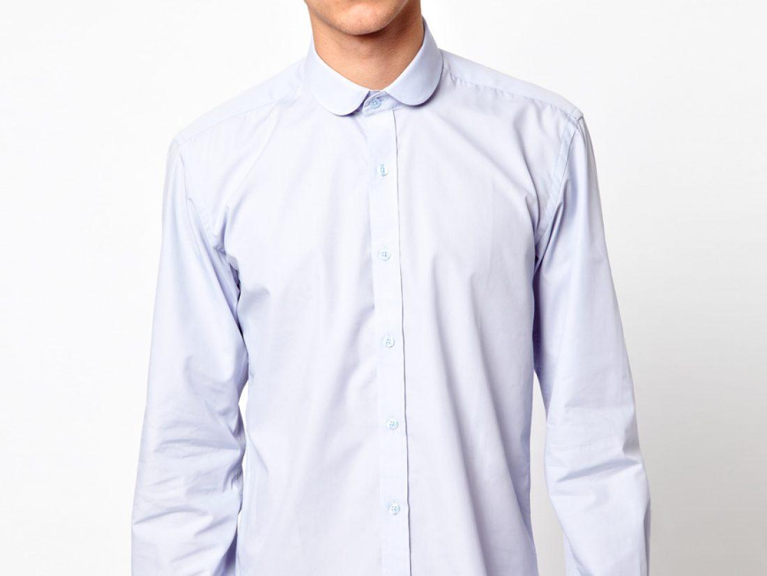 Chemise col rond homme, pour ceux qui detestent les cravates