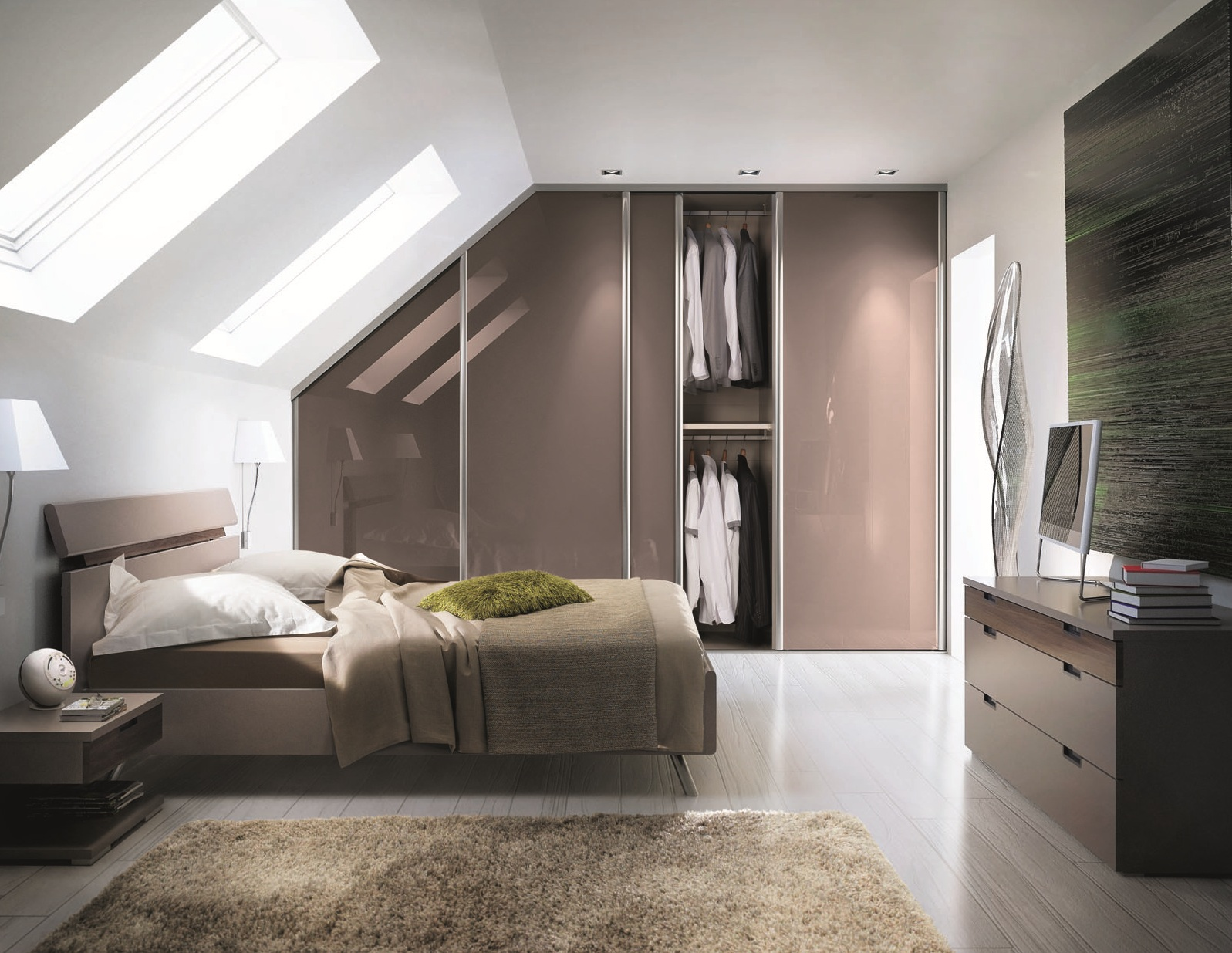 je d core mon appartement avec une armoire sur mesure. Black Bedroom Furniture Sets. Home Design Ideas