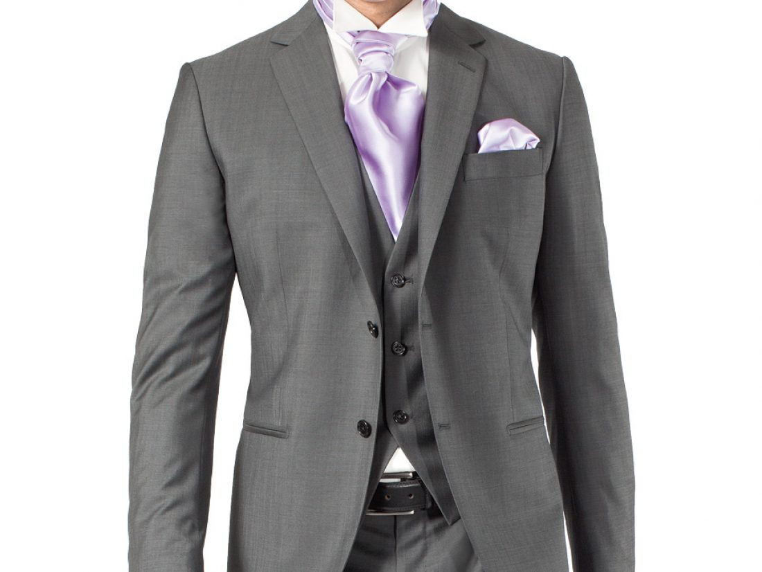 Costume gris anthracite, que porter avec ?
