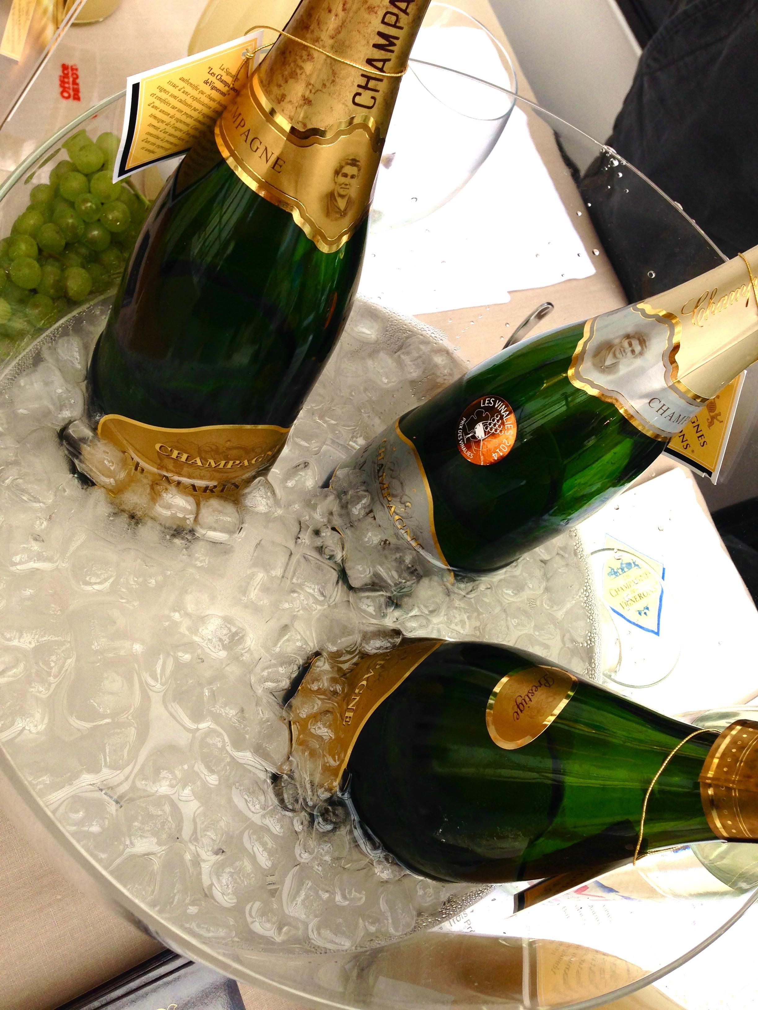 Good Certains Maisons De Champagnes Offrent Un Rapport