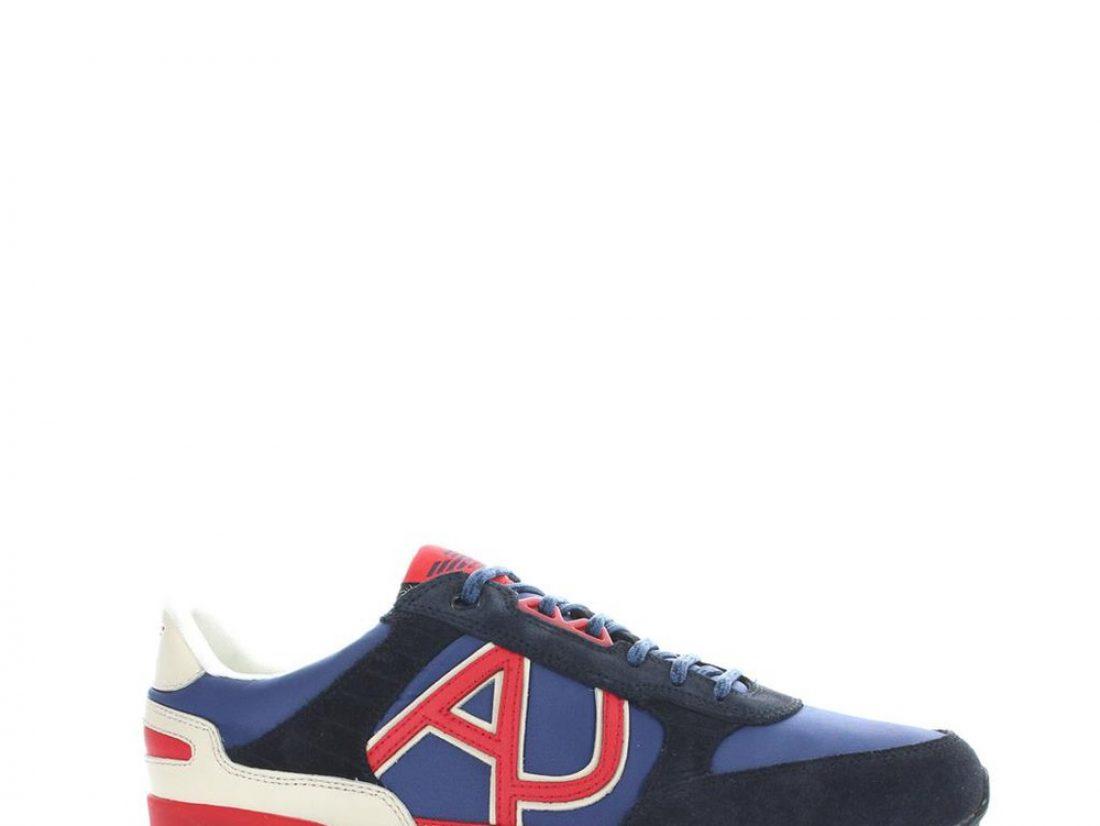 Armani basket homme, la marque couture propose également des chaussures