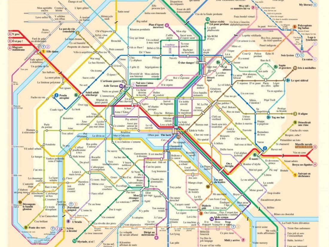 Plan metro : un document qui pourra vous être très utile lorsque vous voyagez dans Paris