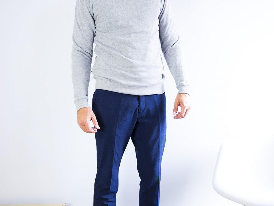Optez pour une allure confiante dans un pull chemise femme