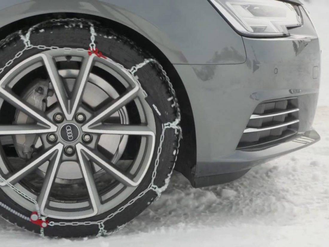 Comment monter des chaines neige ?