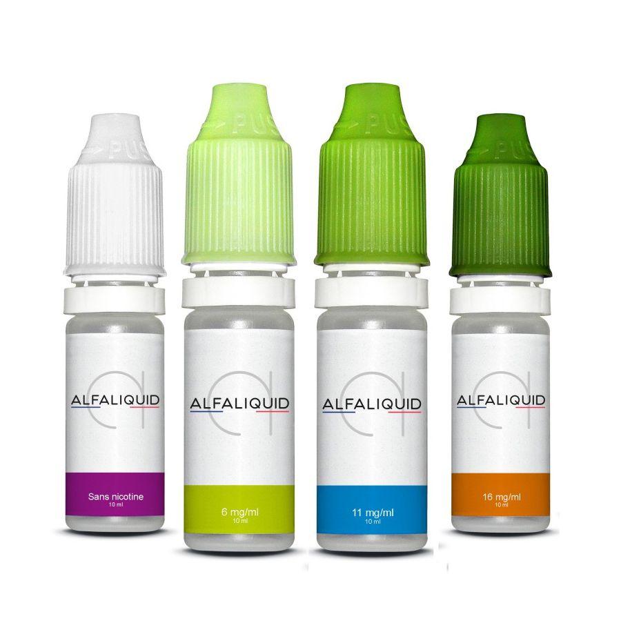 Alfaliquid : Vapoter aux couleurs de la France avec de l'e-liquide made in France