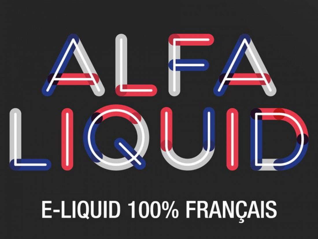 Alfaliquid : Vapoter aux couleurs de la France avec de l'e-liquide made in France