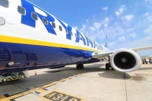 contacter la compagnie Ryanair